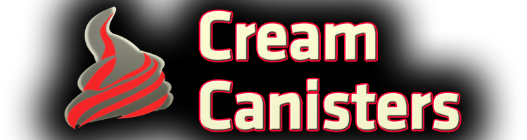 Cream Canisters – whipped cream chargers & dispensers